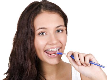 Ершики для гигиены зубов и брекетов