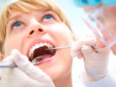 санированная полость рта