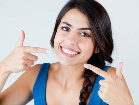 здоровая улыбка без трем
