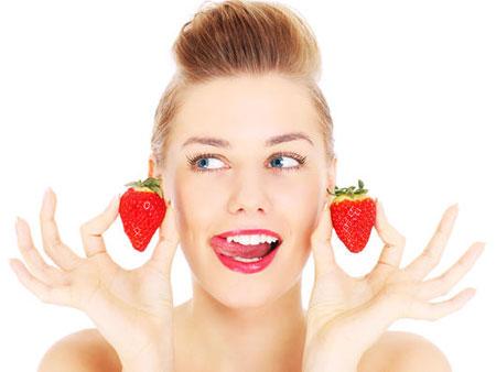 Клубничное отбеливание для ваших зубов