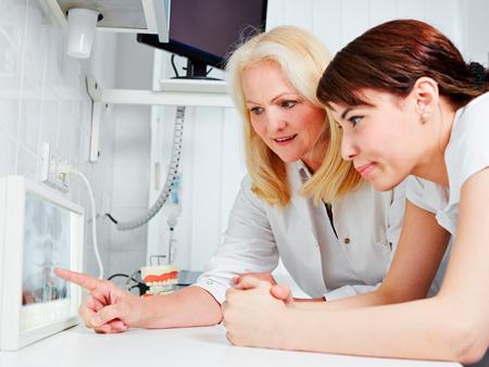изучение ортопантомограммы
