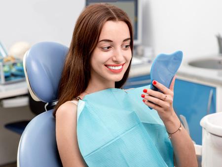 после процедуры ламинирования зубов