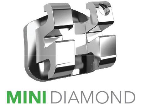 Комфортное лечение с брекетами Mini Diamond